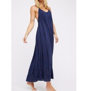 🆕FREE PEOPLE Elaine Embroidered Maxi Dress